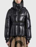 Moncler Puffer Jacket With Waist Belt Picutre