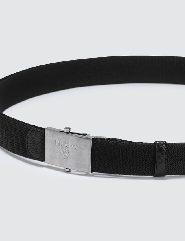 Prada Nylon Fabric Belt