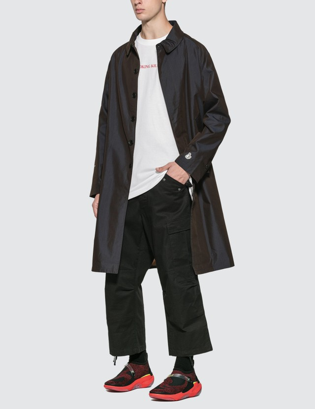 #FR2 Wanna Be FLASHER Convertible Collar Coat