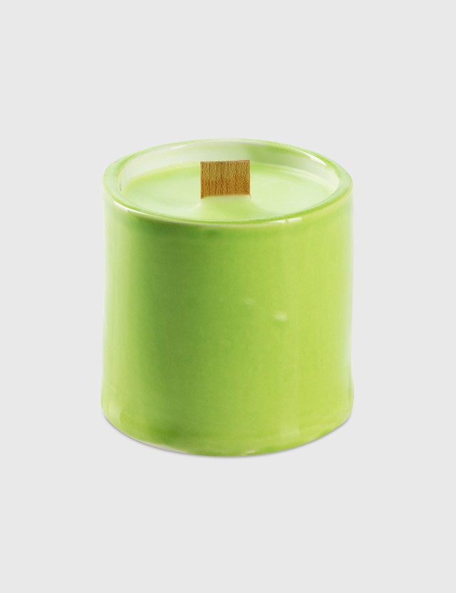 Crosby Studios Green Candle Small