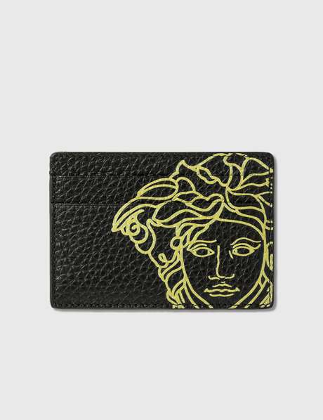 베르사체 Versace Pop Medusa Leather Card Case
