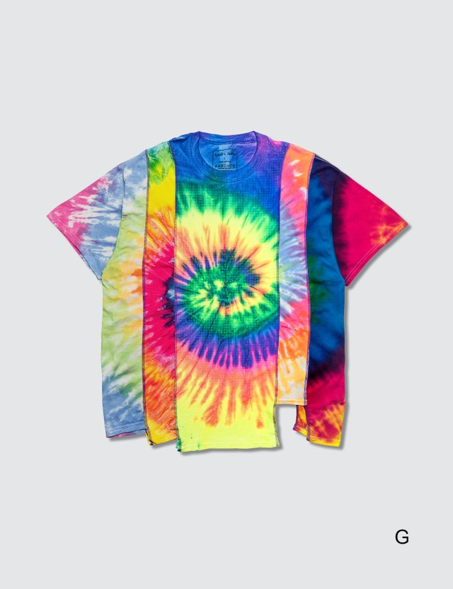 Needles 5 Cuts Tie Dye S/S T-Shirt