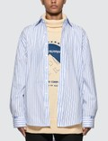 Ader Error Oversized Fit Stripe Shirt Picture