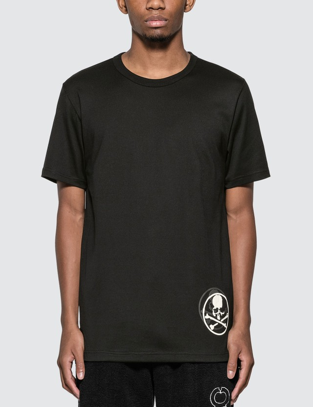 Mastermind World Back Skull Logo Print T-Shirt