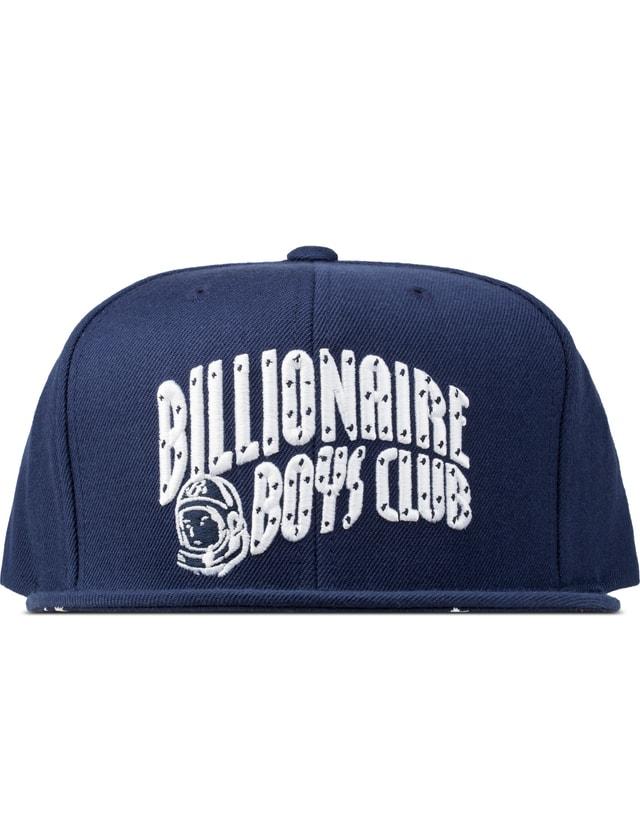 Billionaire Boys Club Blue Flash Refective Arch Logo Snapback