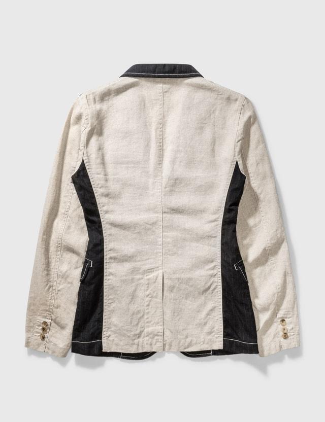 Comme des Garçons HOMME PLUS Comme Des Garçons Homme Plus Stripe Blazer Black/beige Archives