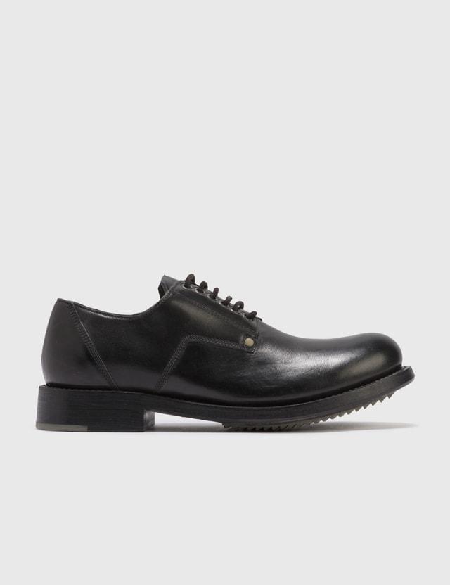 Rick Owens Rick Owens Cop Leather Shoes Black Archives