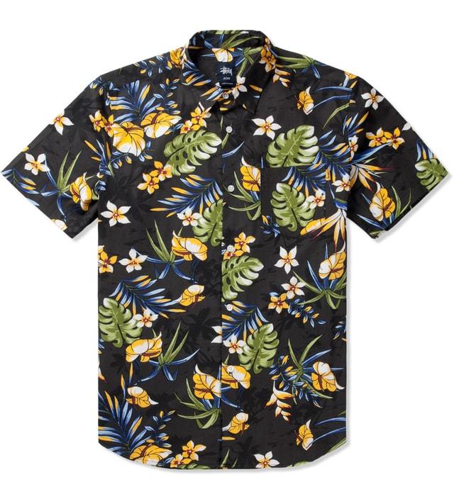 Stussy Black Paradise Shirt