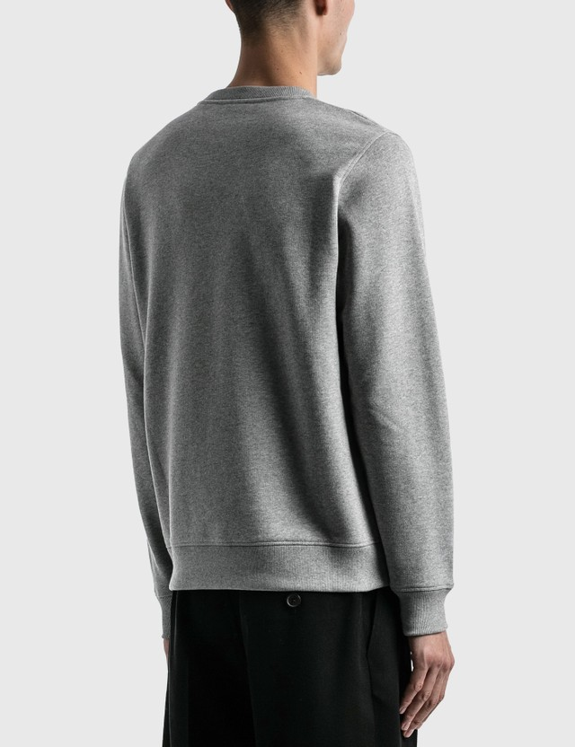 Loewe Anagram Sweatshirt Grey Melange Men