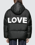 Katharine Hamnett Duvetica X Katharine Hamnett Oversized Down Puffer Jacket With Love Slogan Picture