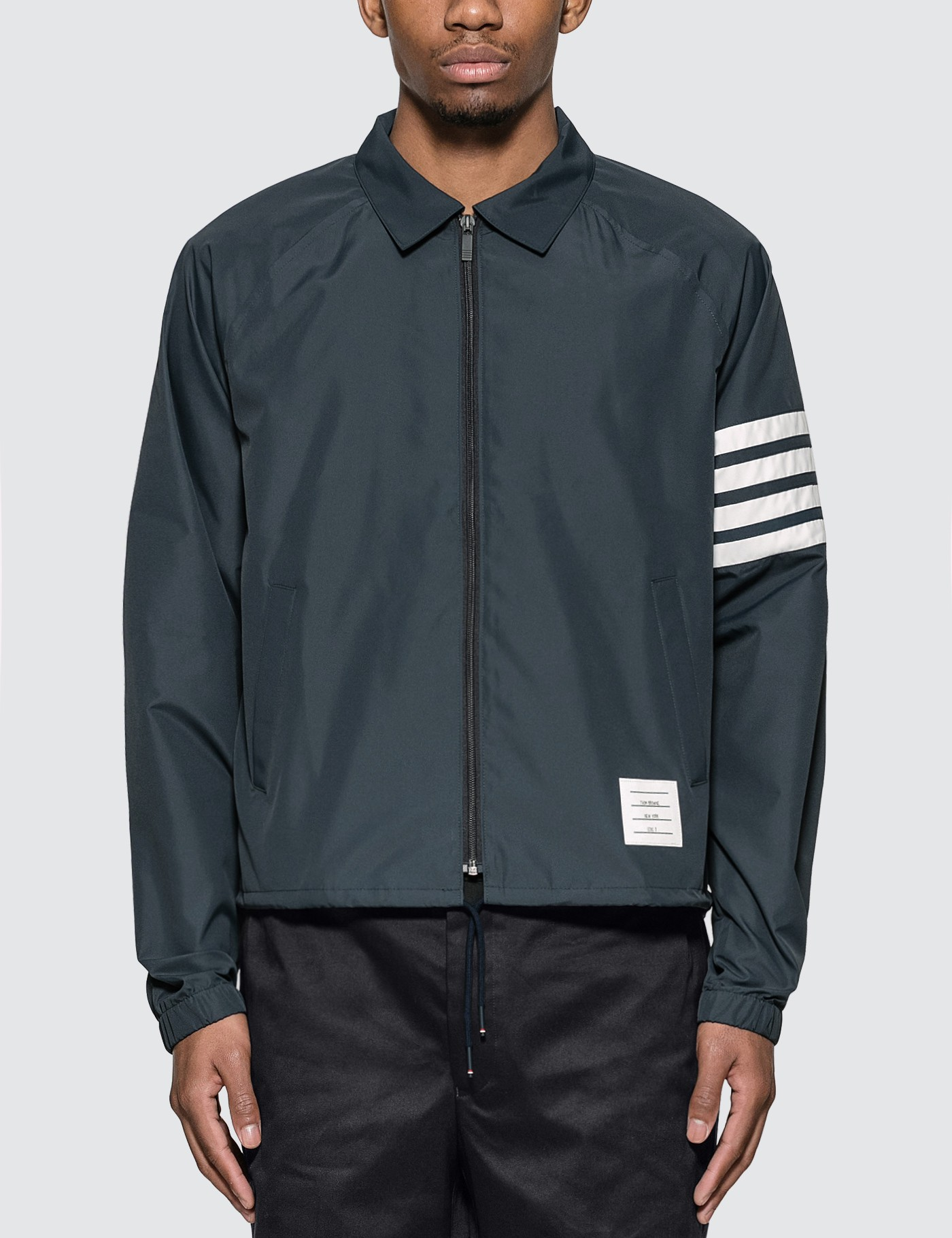 Flyweight Tech 4 Bar Stripe Windbreaker