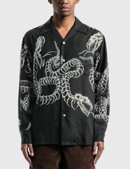 Wacko Maria Hawaiian Long Sleeve Shirt (Type-6)