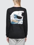 "RIPNDIP ""Great Wave"" L/S T-Shirt Picture"