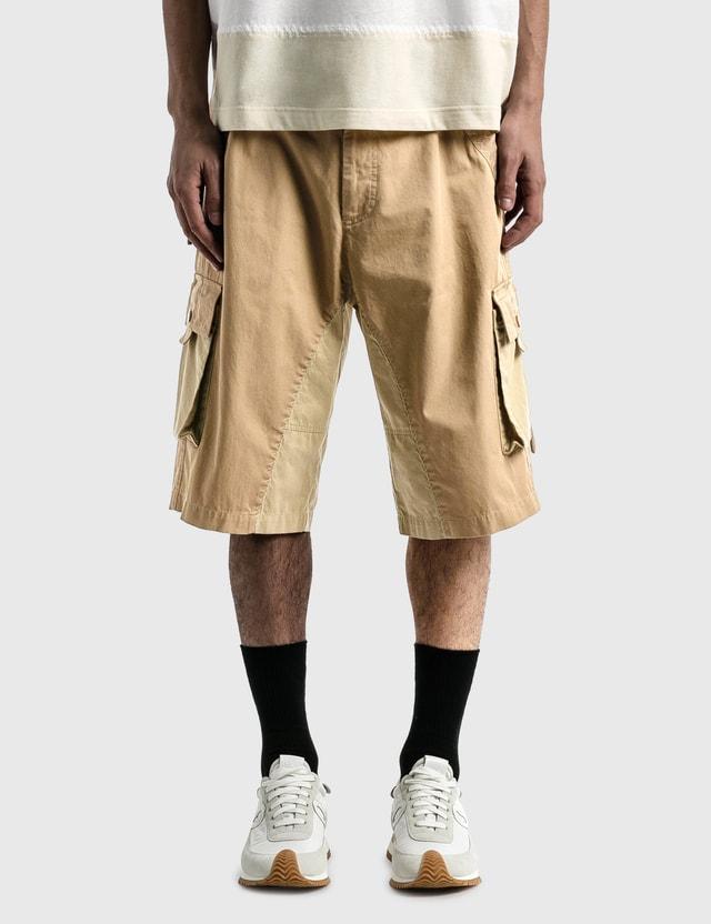 Moncler Genius 1 Moncler JW Anderson Bermuda Shorts Beige Men