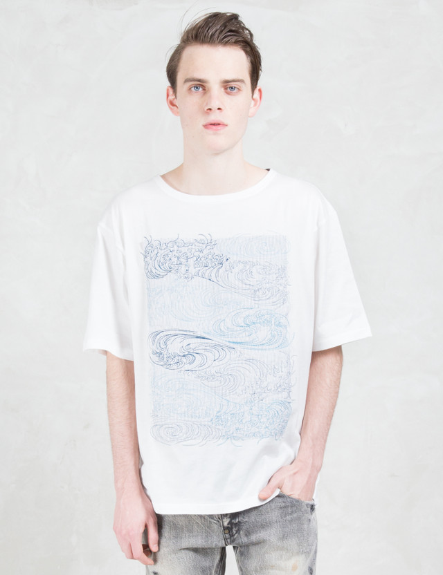 FACTOTUM Embroidery S/S T-Shirt