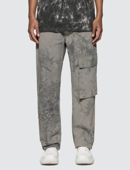 Misbhv The Washed Out Tie Dye Cargo Trousers