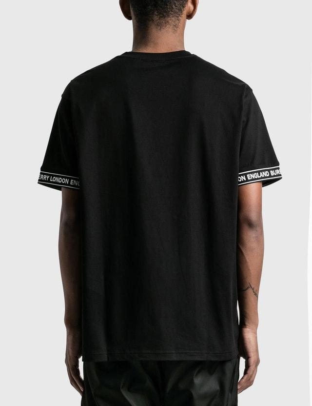Burberry Logo Tape Cotton Oversized T-Shirt