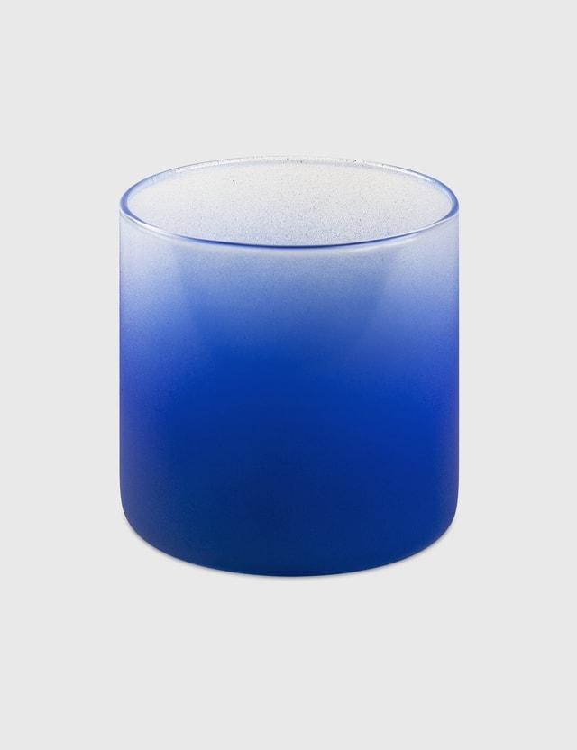 Crosby Studios Medium Blue Gradient Glass