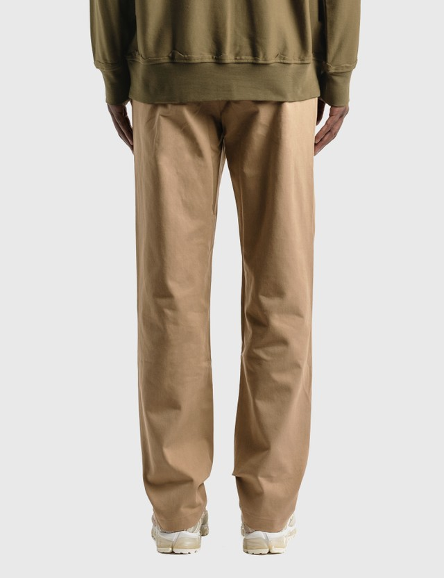 Ader Error Crumple Pants Beige Men
