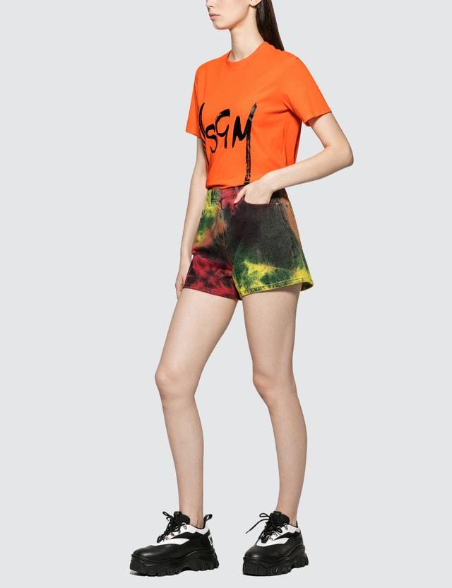 MSGM Bermuda Shorts Multicolor Women