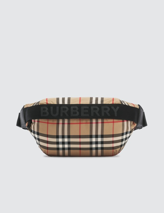 Burberry Check Print Fanny Pack