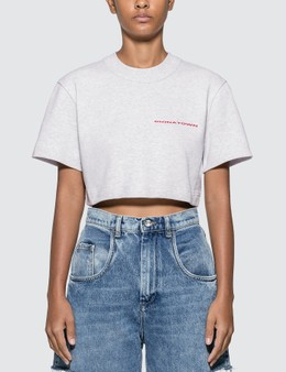 Alexander Wang Chynatown Cropped T-shirt