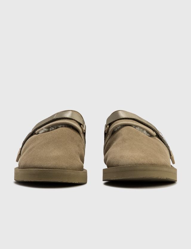 Suicoke ZAVO-Mab Sandal Taupe Men
