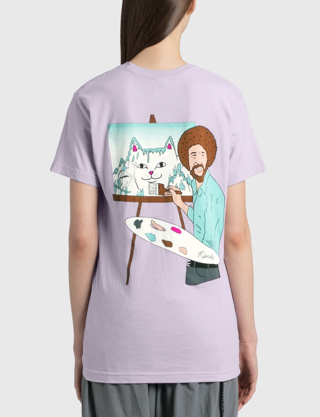 RIPNDIP Beautiful Mountain T-Shirt Purple Women