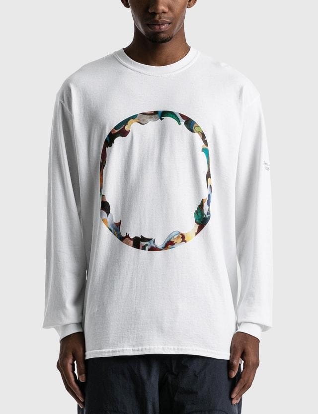 Yen Town Market First Collection Disc Long Sleeve T-Shirt