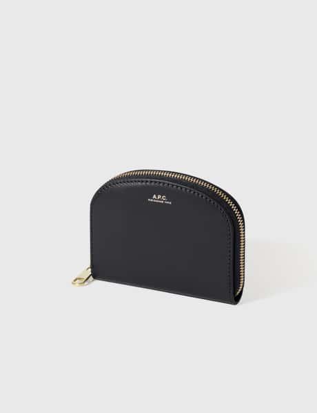 아페쎄 A.P.C. Half Moon Zip Wallet