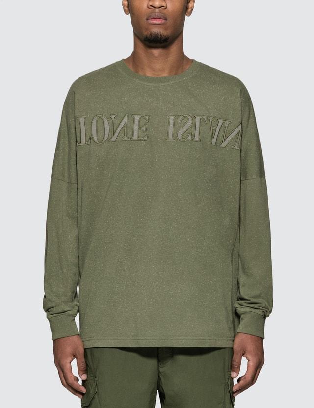 Stone Island Washed Long Sleeve T-Shirt