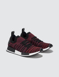 Adidas Originals NMD R1 Runner STLT Primeknit Core Black/red-sld Men