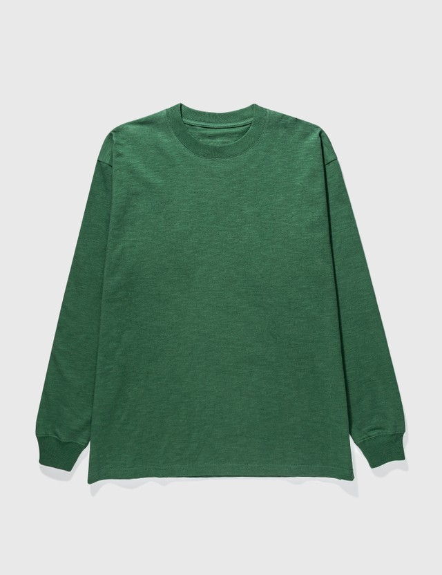 Grocery LTP-006 Invoice Long Sleeve T-shirt Green Men