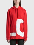 Burberry Love Print Cotton Oversized Hoodie Picutre