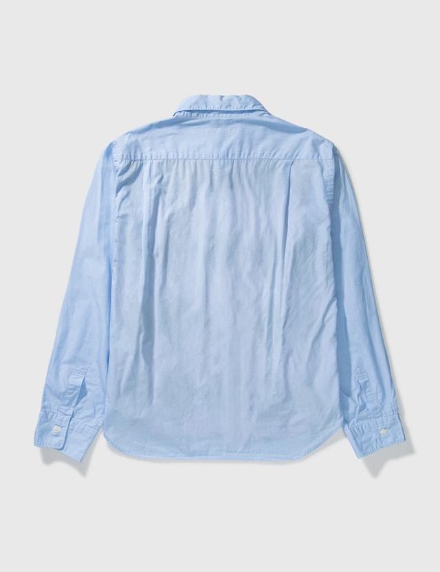 Comme des Garçons HOMME Comme Des Garçons Homme Patchwork Shirt Blue Archives