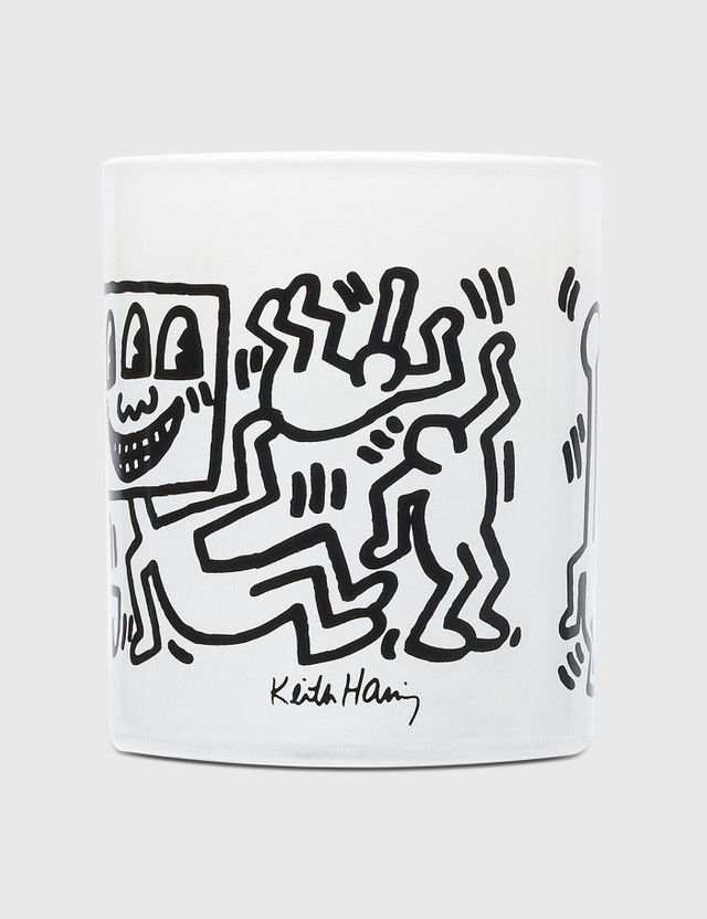 Ligne Blanche Keith Haring White & Black Perfumed Candle White Men