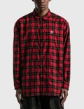 uniform experiment Baggy Regular Collar Check Shirt Picture