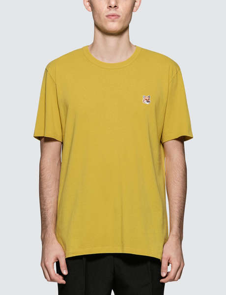 메종 키츠네 Maison Kitsune Fox Head Patch S/S T-Shirt