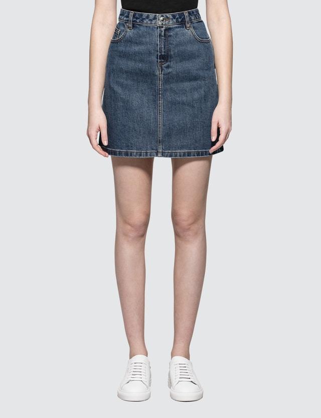A.P.C. Jupe Standard Denim Skirt