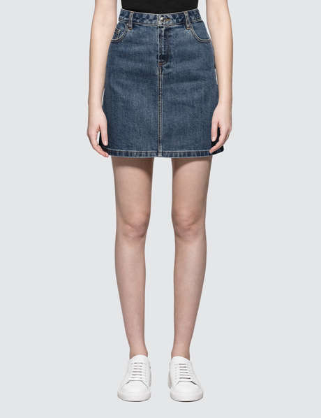 아페쎄 A.P.C. Jupe Standard Denim Skirt