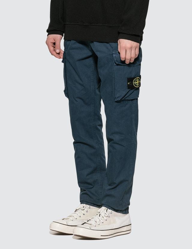 Stone Island Slim Fit Twill Cargo Pants