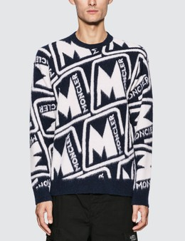 Moncler Monogram Wool Sweater