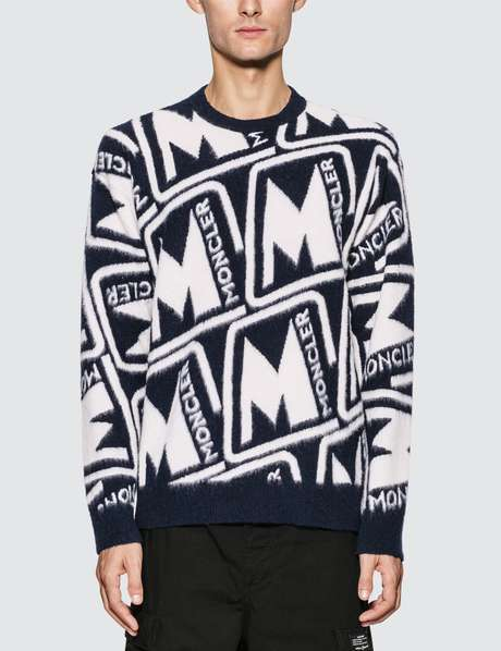 몽클레어 Moncler Monogram Wool Sweater