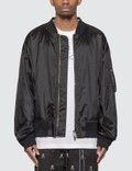 Mastermind World Crystal Skull MA-1 Jacket Picutre