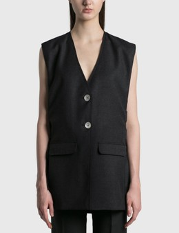 Ganni Wool Suiting Vest