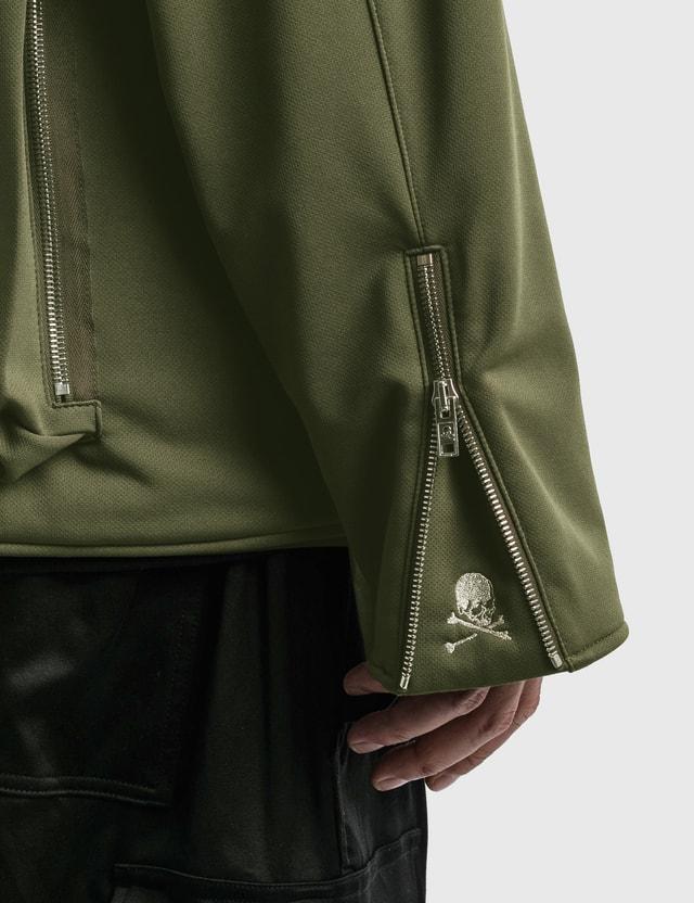 Mastermind World Jersey Multi Pockets Cardigan Olive Men