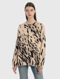R13 Cheetah Oversized Sweater Picture