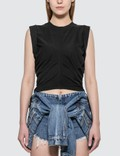 Alexander Wang.T Wash & Go Side Tie Crop Top Picture