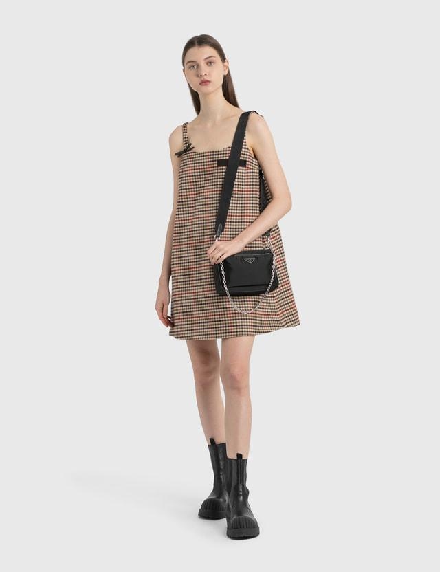 Prada 디태쳐블 프론트-파우치 크로스바디 Nero Women