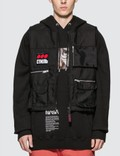 Heron Preston Multi Pockets Fire Vest Picutre